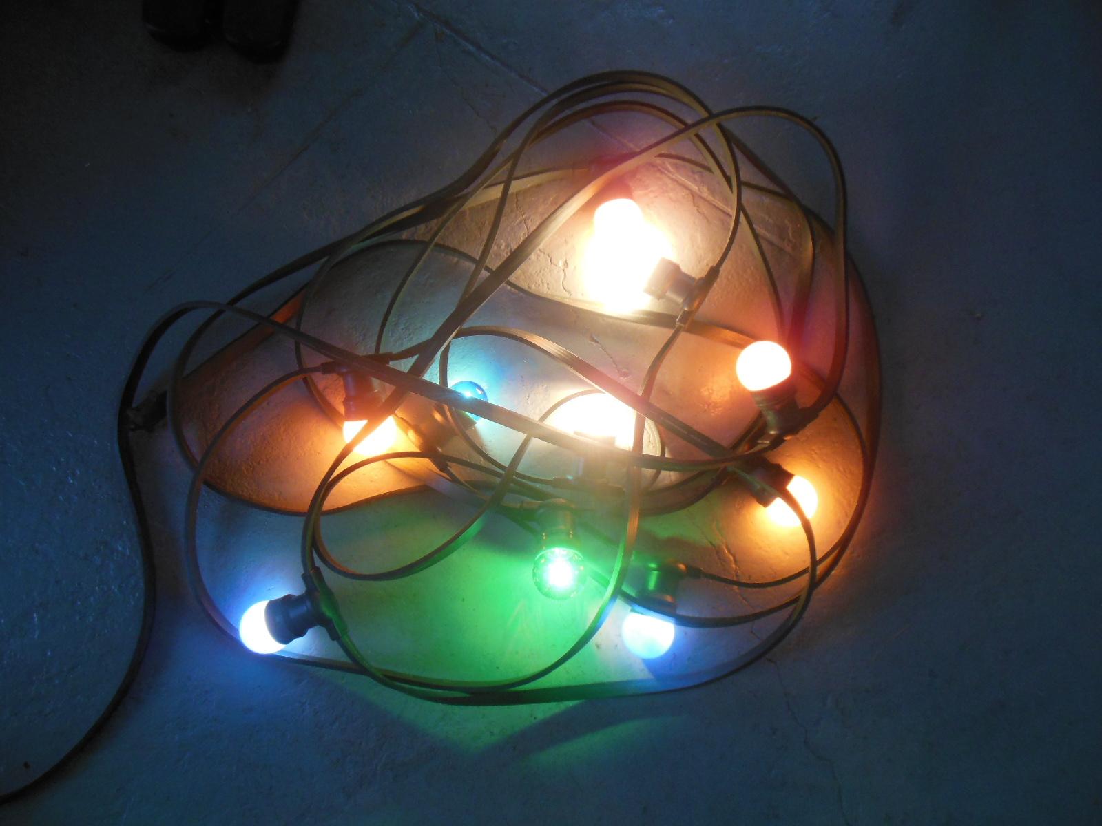 Partytent verlichting prikkabel 2 x 10 meter - Flevo verhuur