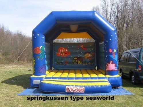 Springkussen SeaWorld overdekt