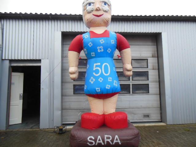 Sarah op plateau