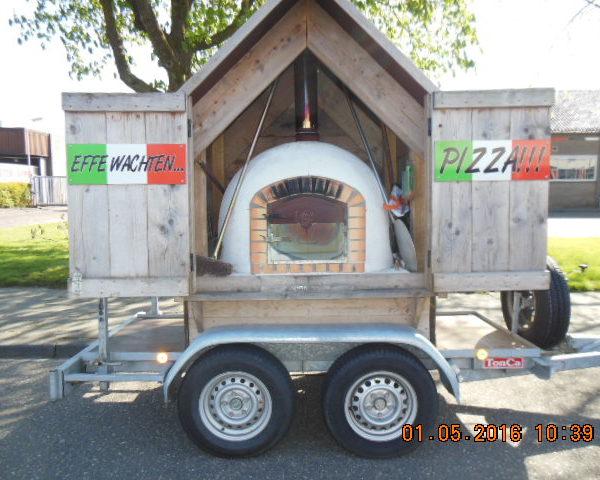 Pizza steenoven hut